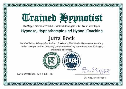 Hypnose Coach - DAGH